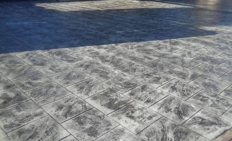Hormigon impreso en Roquetas del Mar